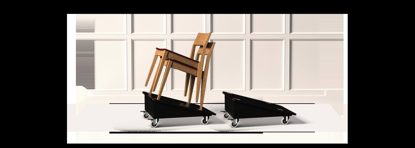 Chair Dollies back